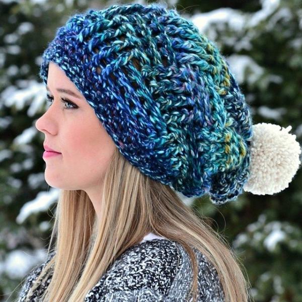livingskiescrochet crochet hat