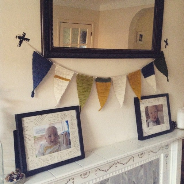 lou.teacrochet crochet bunting