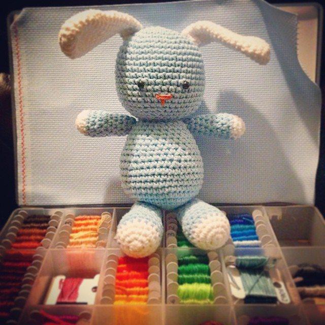 loucamp crochet bunny