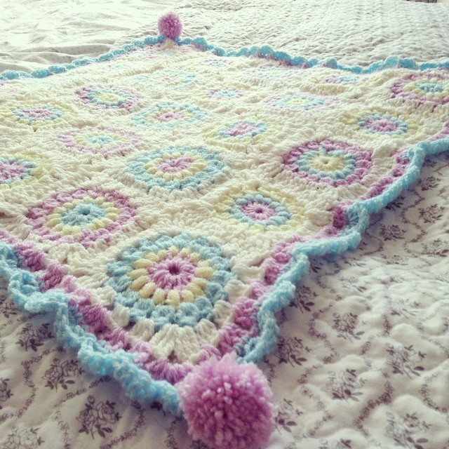make_the_nest crochet blanket