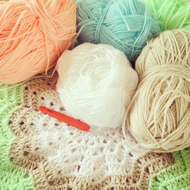 make_the_nest crochet star blanket