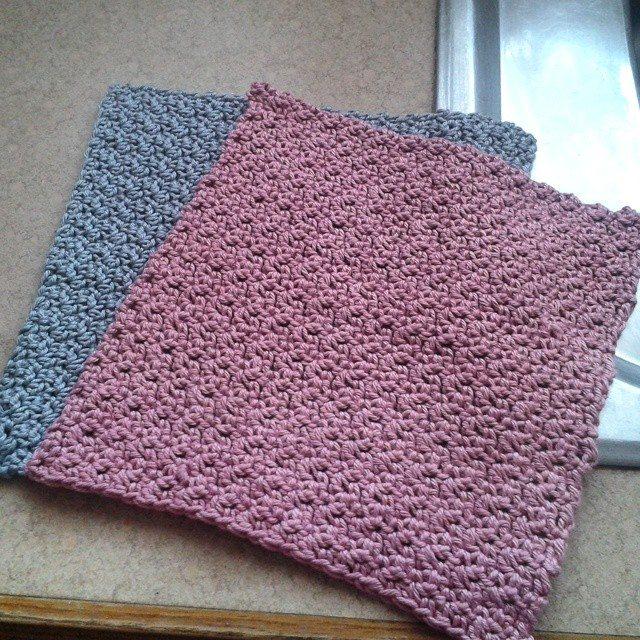 mammalanie crochet dishcloths