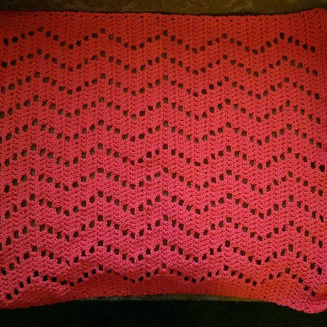 mlissabethgr crochet car seat blanket