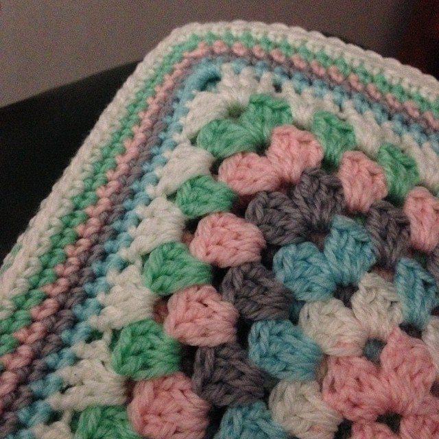 nessbombaert crochet granny square blanket