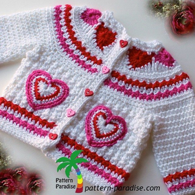 patternparadise crochet sweater pattern for sale