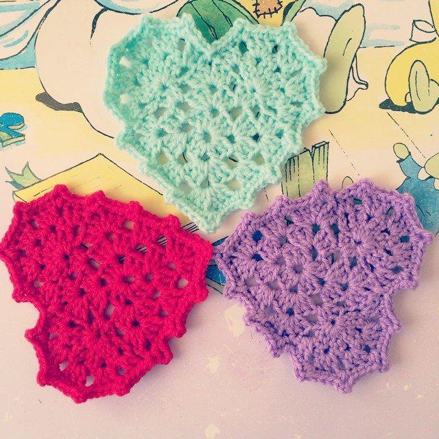 pauline.c.morgan crochet hearts