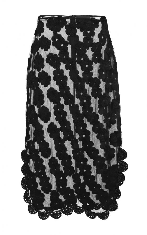 simone rocha crochet designer skirt