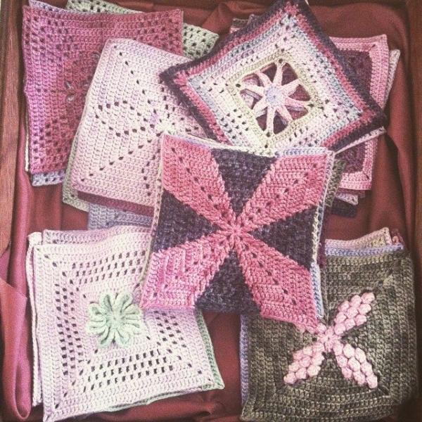 stephaniedavies crochet squares