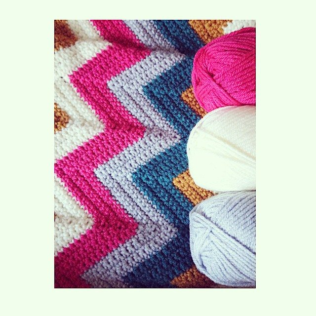 sweet_sharna chevron crochet