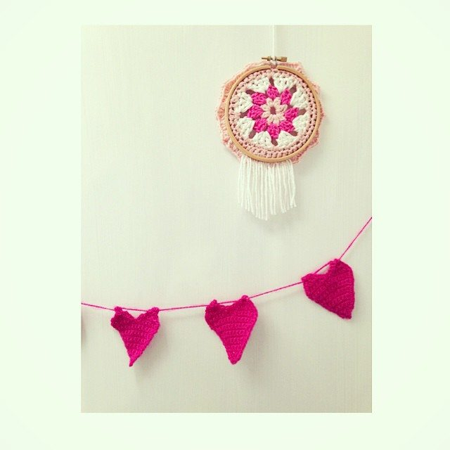 sweet_sharna_makes crochet dreamcatcher