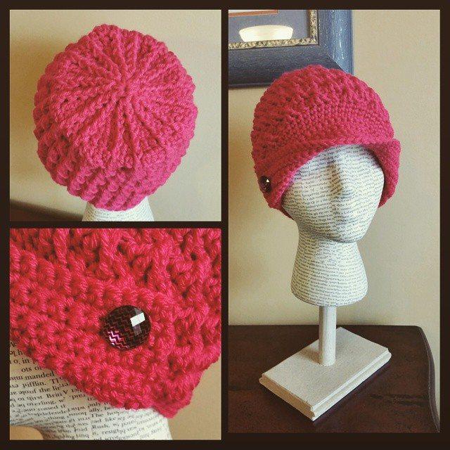 thegirllovesyarn crochet hat