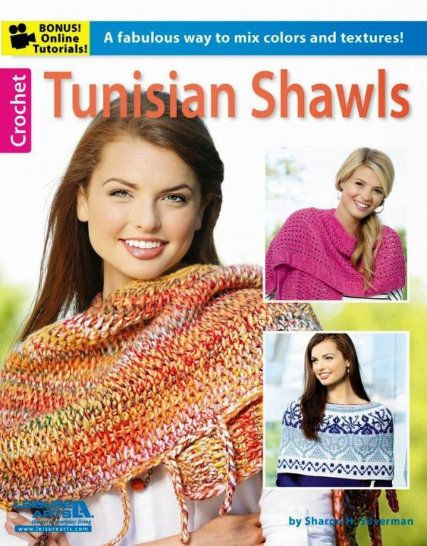 tunisian crochet shawls
