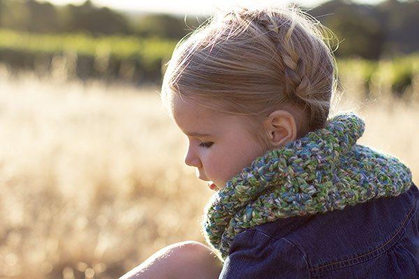 v stitch crochet cowl pattern