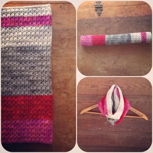 woolyana crochet cowl