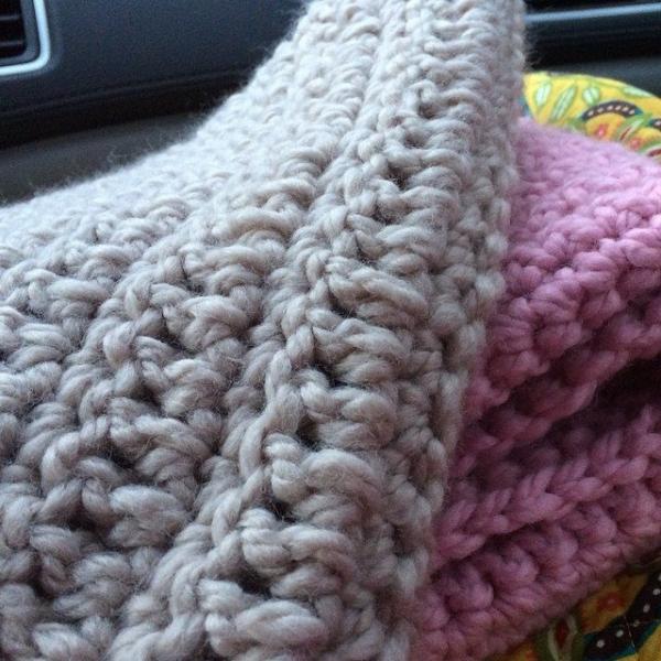 yarnhook crochet baby blanket