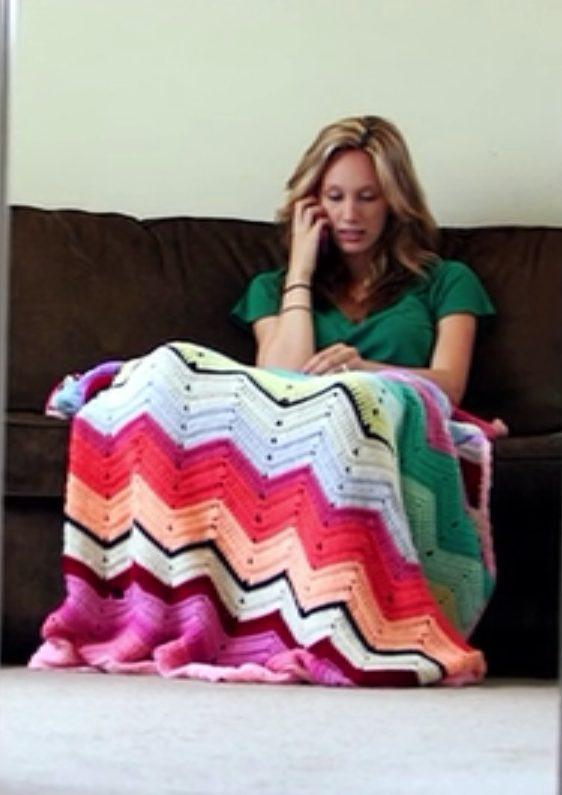 crochet on tv