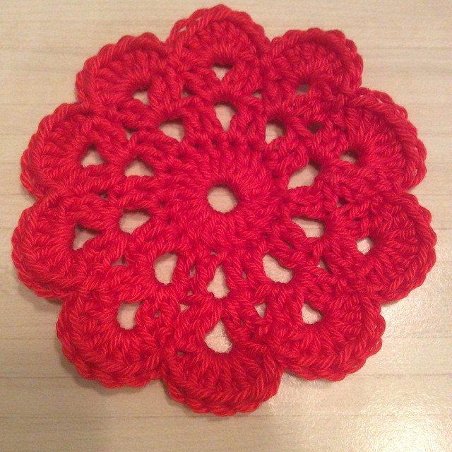 aglaelaser crochet flower