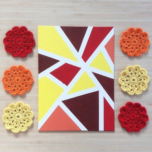 aglaelaser crochet flowers 2