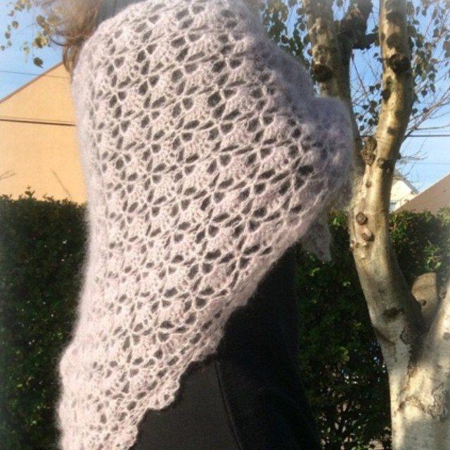 aglaelaser crochet wrap
