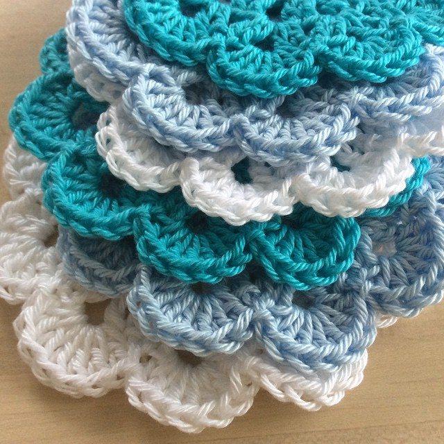 algaelaser crochet flower