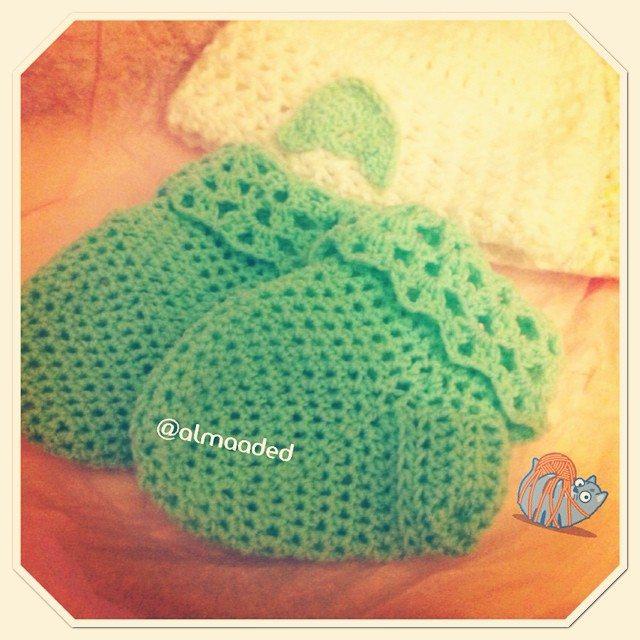 almaaded crochet booties