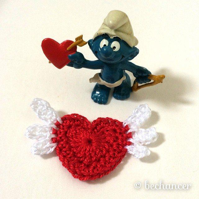 bechancer crochet heart