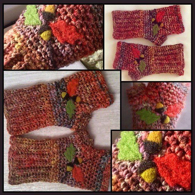 bethshannane crochet fingerless gloves 2