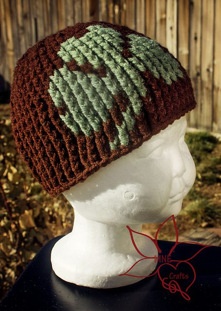 clover hat crochet pattern