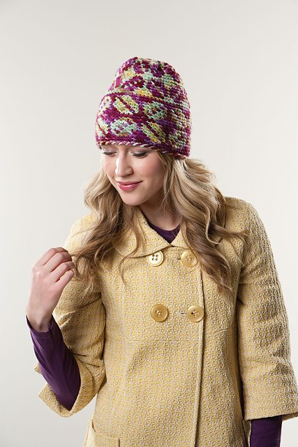colorwork crochet hat
