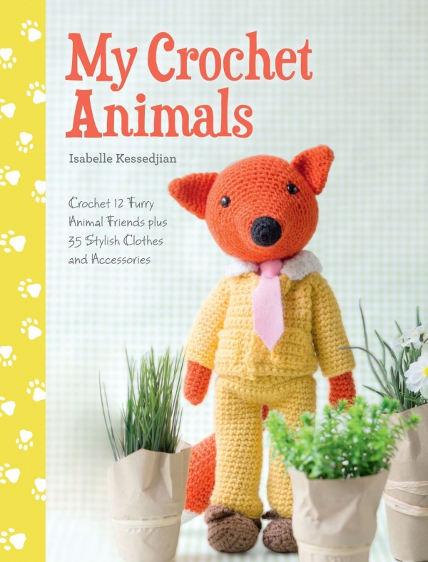 crochet animals book