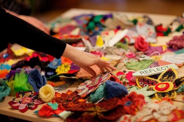 crochet art project