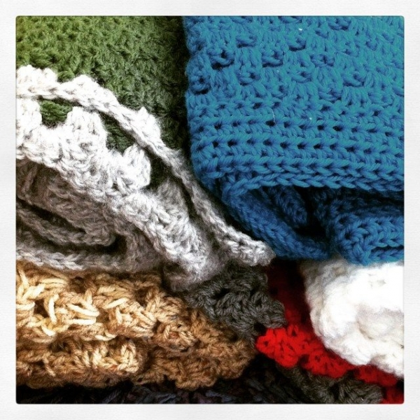 crochet blanket donation