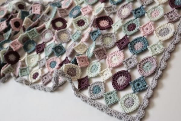 gehaakte deken patroon