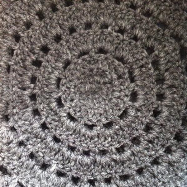 crochet circle hat