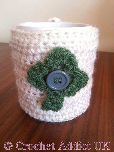 18 Crochet Clovers And Shamrock Patterns For St Patricks Day