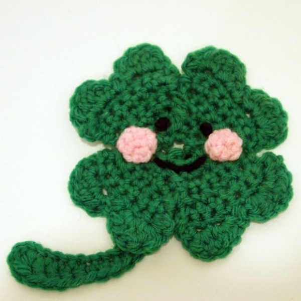 Free Crochet Patterns Four Leaf Clover : 18 Crochet Clovers and Shamrock Patterns for St. Patricks ...