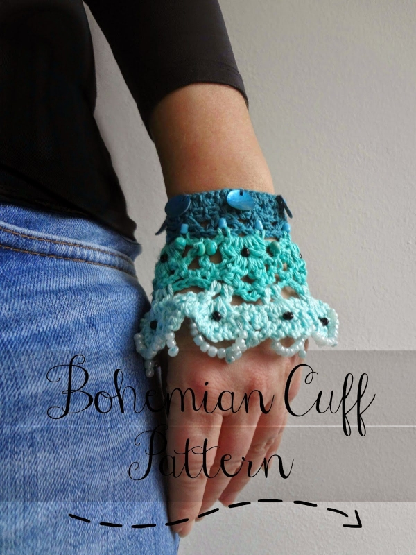 crochet cuff pattern