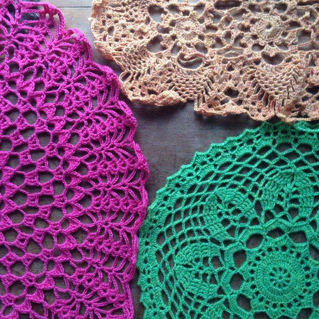 crochet doilies woolyana