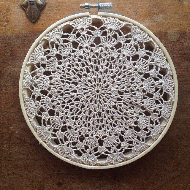 crochet doily art coolyana