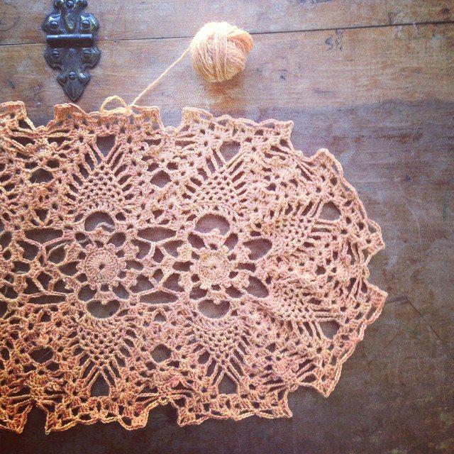 crochet doily woolyana
