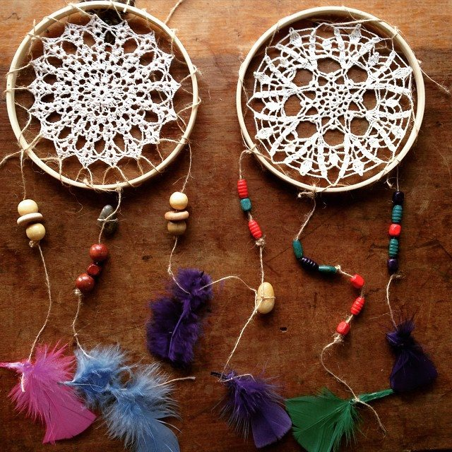 crochet dreamcatchers woolyana