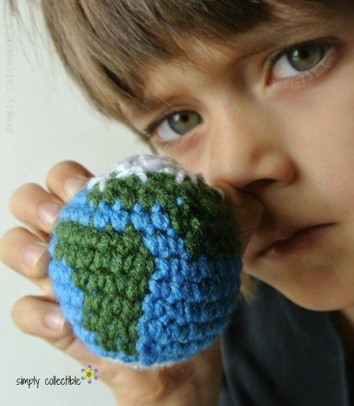 crochet earth free pattern
