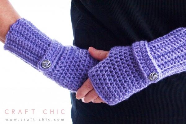 Haak handschoenen patroon