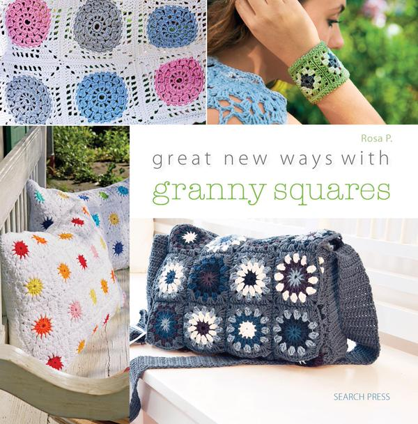 crochet granny square book