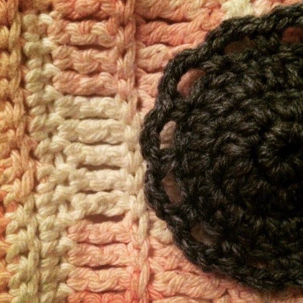 crochet hat circle