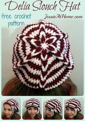 Gehaakte hoed gratis patroon