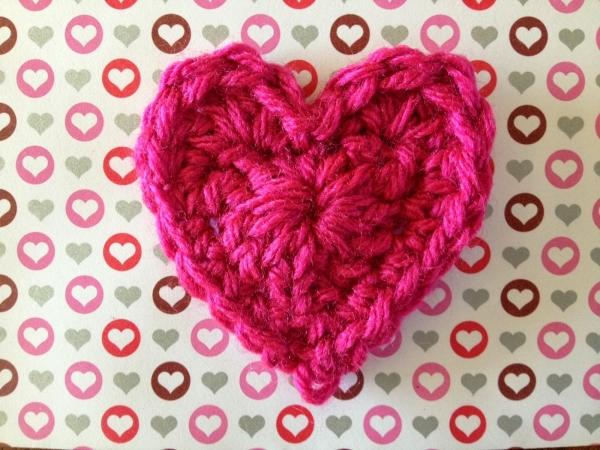 Haak hart patroon