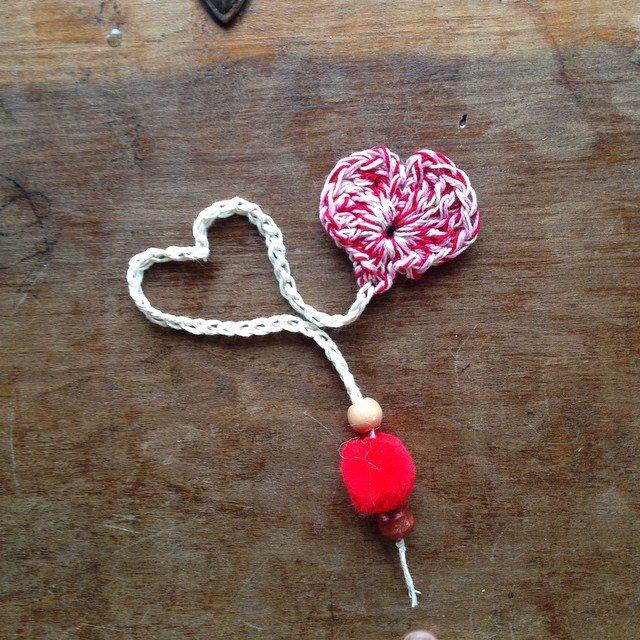 crochet heart woolyana