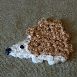 haak hedgehog pattern