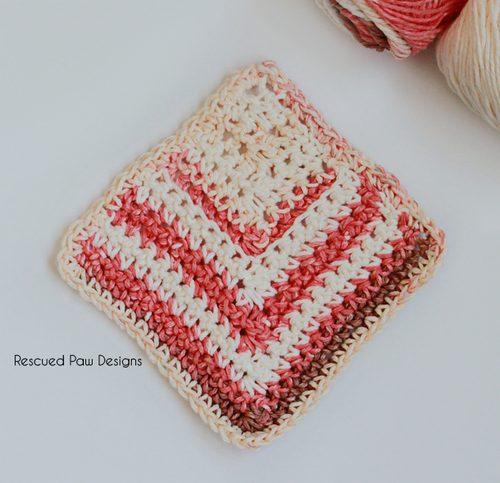 crochet mitered square